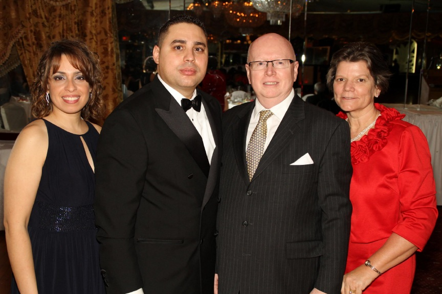 Jeanette and Gabriel Salguero with Geoff and Jewel Tunnicliffe